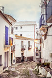 Cadaques streets Stock Photo