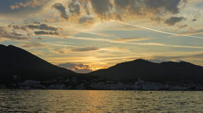 Cadaques sunset. Royalty Free Stock Photos