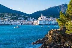 Cadaques sur Costa Brava, Catalogne, Espagne Photographie stock