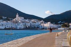 Cadaques sur Costa Brava, Catalogne, Espagne Images libres de droits