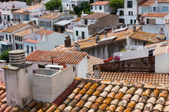 Cadaques town of Catalonia, Spain Royalty Free Stock Images