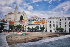 Cadaques town in Spain Royalty Free Stock Photography