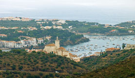 Cadaques View Stock Photography