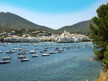 Cadaques view Royalty Free Stock Images