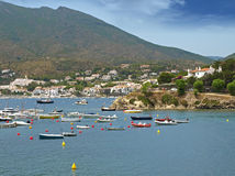 Cadaques view Stock Photos