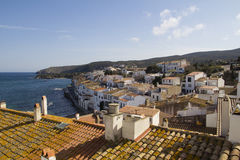Cadaques view, in the Costa Brava, Spain Royalty Free Stock Image