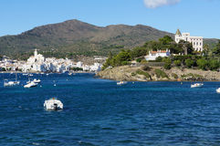 Cadaques village in the Costa Brava Royalty Free Stock Image