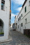 Cadaques village -Costa brava Royalty Free Stock Photography