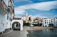 Cadaques village -Costa brava Stock Photography