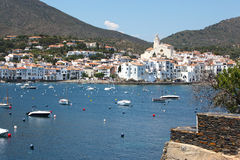 Cadaques village Stock Photos