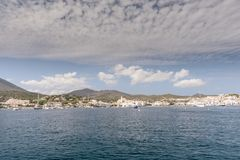 Cadaques, Catalonia, Spain royalty free stock photo