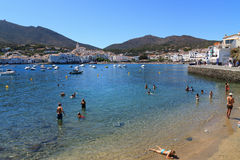 Cadaques. The white village of Cadaques Costa Brava, Catalonia, Spain Royalty Free Stock Photography