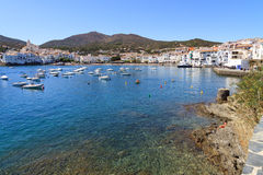 Cadaques. The white village of Cadaques Costa Brava, Catalonia, Spain Stock Photo