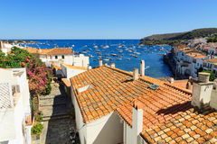 Cadaques. The white village of Cadaques Costa Brava, Catalonia, Spain Stock Images