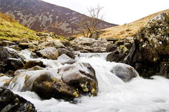 Cadar Idris waterfall Stock Photography