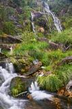 Cadarnoxo Waterfall, Boiro, Pontevedra, spain. Cadarnoxo waterfall in Boiro, Pontevedra, Spain Royalty Free Stock Images
