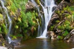Cadarnoxo Waterfall, Boiro, Pontevedra, spain Stock Image