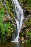 Cadarnoxo Waterfall, Boiro, Pontevedra, spain Stock Images