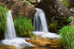 Cadarnoxo Waterfall, Boiro, Pontevedra, spain. Cadarnoxo waterfall in Boiro, Pontevedra, Spain Stock Photo