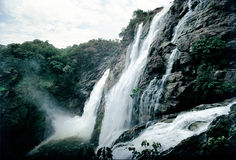 Caídas del agua de Cauvery Foto de archivo libre de regalías
