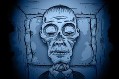 Cadavere calmo Fotografia Stock