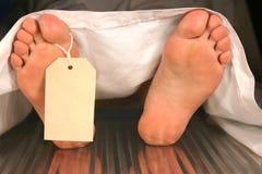 Cadavre Photographie stock libre de droits