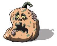 Cadavre JackoLantern A de vampires de zombi Photos stock