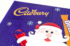 Cadbury Christmas Confectionery Stock Image