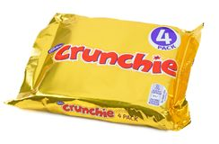 Cadbury Crunchie Immagine Stock Libera da Diritti