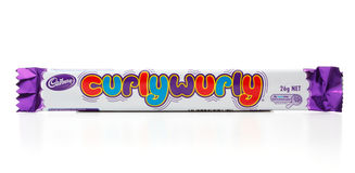 Cadbury Curly Wurly Royalty Free Stock Image