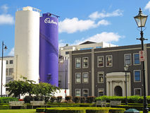 Cadbury-Fabrik Stockfotografie