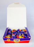 Cadbury`s Creme Egg stock photography