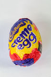 Cadbury`s Creme Egg. CHESTER, UNITED KINGDOM - March 19 2017: Cadbury`s Creme Egg. A popular chocolate treat for the Easter holidays Stock Image
