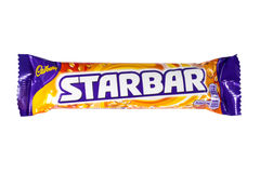 Cadbury Starbar Chocolate Bar Royalty Free Stock Image