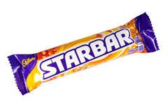 Cadbury Starbar Chocolate Bar Royalty Free Stock Images