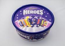 Cadburys Heroes Tub Stock Image
