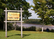 Caddell Rapids Stock Image