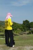 caddies golf говорящ 2 Стоковые Изображения RF