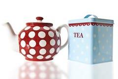 caddy τσάι δοχείων Στοκ Εικόνα