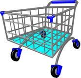 Caddy, Shopping Cart Stock Image