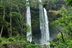 cade il wailua del Kauai Immagine Stock Libera da Diritti