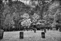 Cade's Cove Cemetery Royalty Free Stock Photo