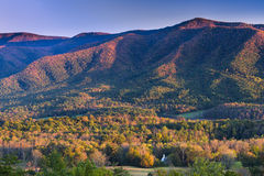 Cade's Cove at Sunset Stock Images