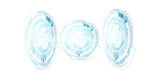 Cadeado de Digitas que fixa a rendição dos dados 3D Foto de Stock Royalty Free