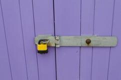 Cadeado e ferrolho Imagem de Stock
