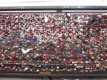 Cadeado na ponte em Koln Imagens de Stock Royalty Free