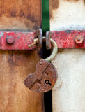 Cadeado oxidado Imagens de Stock Royalty Free