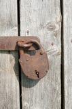 Cadeado oxidado velho Foto de Stock