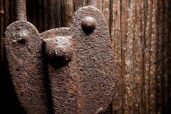 Cadeado velho Fotografia de Stock