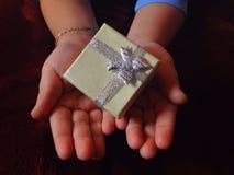 Cadeau à vous Photographie stock libre de droits